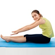 Yoga Relaxes Child, Teen Stress