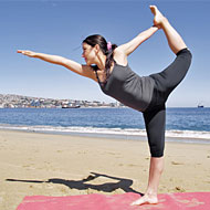 What is the secret to doing arm balance poses better?