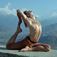 Yoga Poses In Advanced Session
