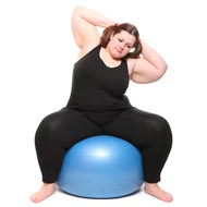 Reduce Weight with Pilates Ball Exercise