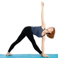 Revolved Triangle Pose for Asthma, Constipation, Digestive ...