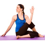 Seated Half Spinal Twist
