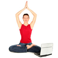 Yoga Therapy With Keyboard