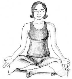 easy pose sukhasana steps precautions and health benefits